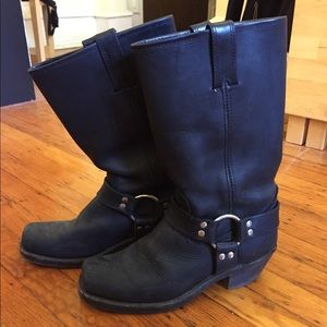 "Black Frye ""Harness 12R"" Boots"